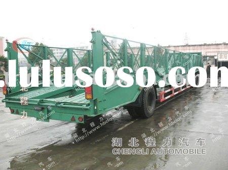 Car transportation semi trailer