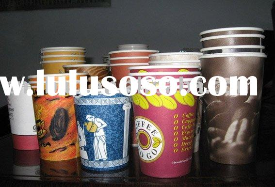 Food packing disposable paper cup