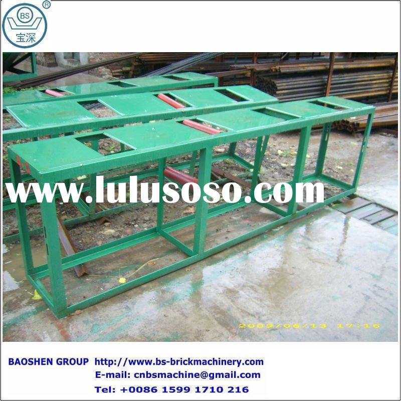 Green bricks distributing and transportation equipment