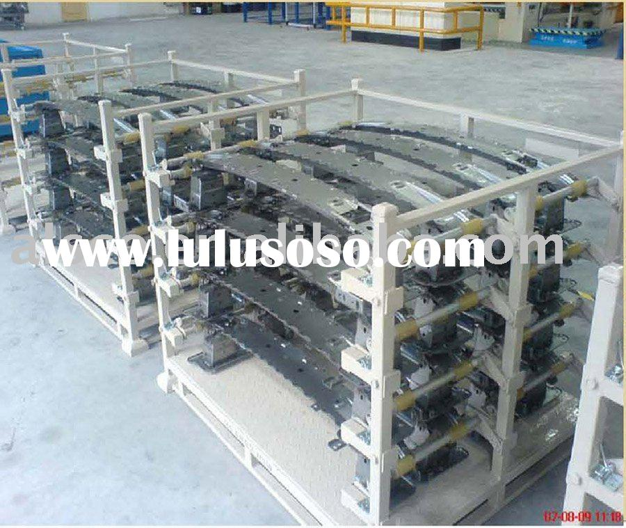 ISO 9001-2000 Approved Shipping Rack for front/rear bumper