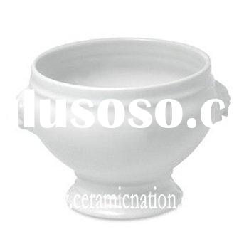 Lion's Head Porcelain Soup Bowl