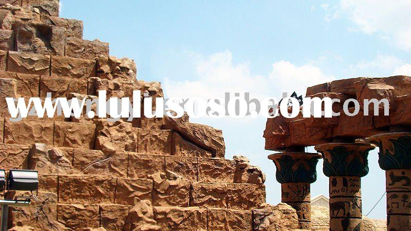 Outdoor Decoration Large Antique Sculptures Egyptian Pyramid