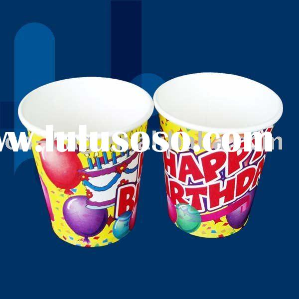 Party drink disposable paper cup