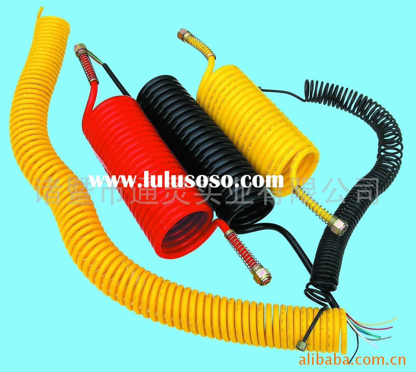 Seven cable helical tube