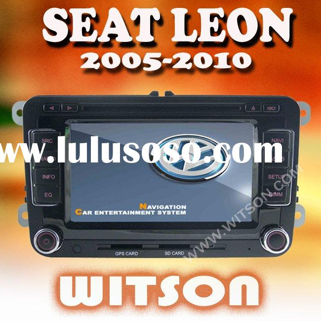 WITSON SEAT LEON 2005-2010 DOUBLE DIN CAR DVD