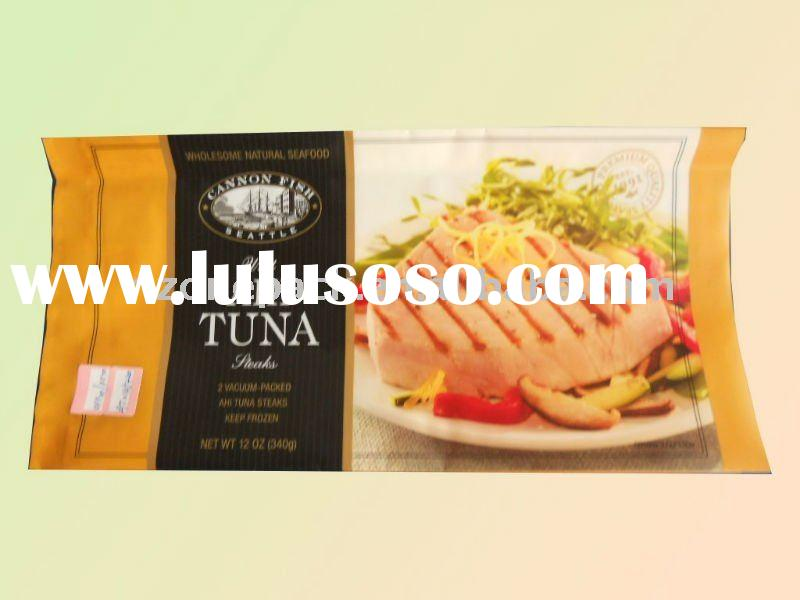 colorful plastic bag for frozen food