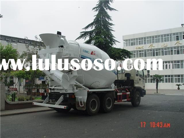 concrete mixing transport car