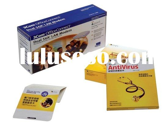 high quality food package 4 color printing box