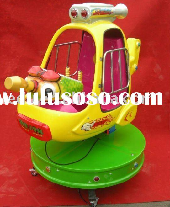hot sale coin operated electric kiddie ride with fort