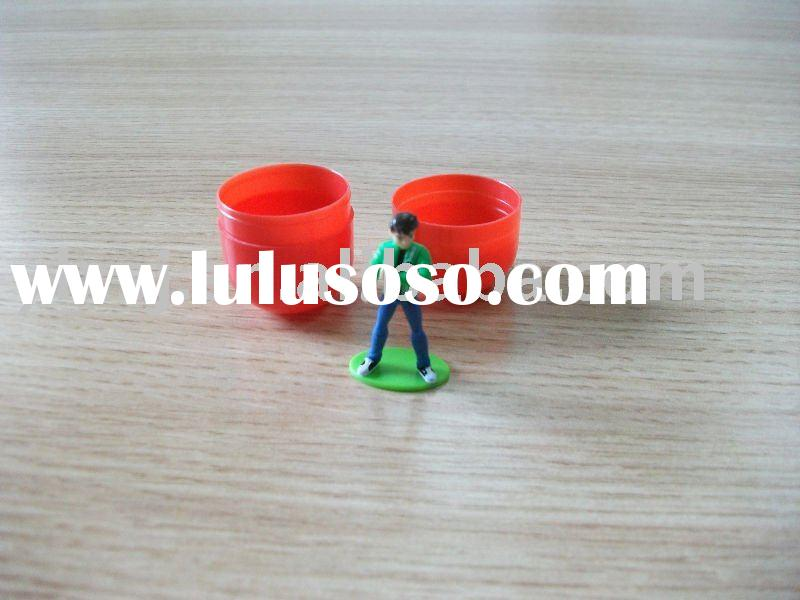 plastic toy capsule for surprise egg