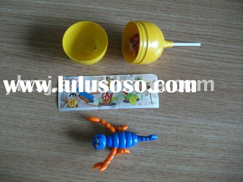 surprise egg toy and capsule