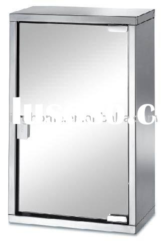 3-Tier Stainless Steel Bathroom Cabinet