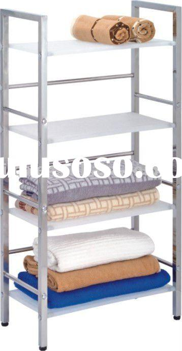 4 Tiers Metal and Stainless Steel Storage Holder