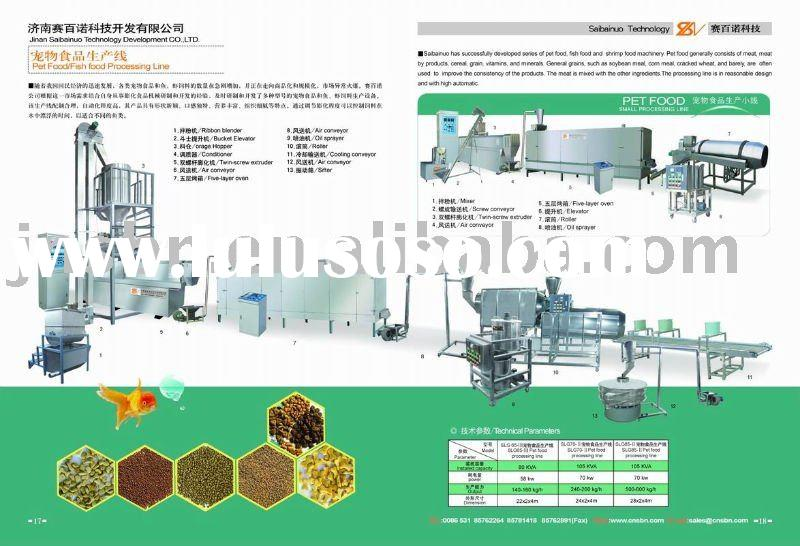 Automatic , baby fish food Processing Line,Fish feed machine