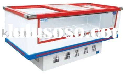 Best selling supermarket freezer for sea food and frozen food
