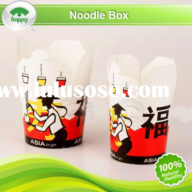 Chinese noodle box
