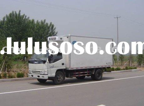 FRP panel refrigerated truck