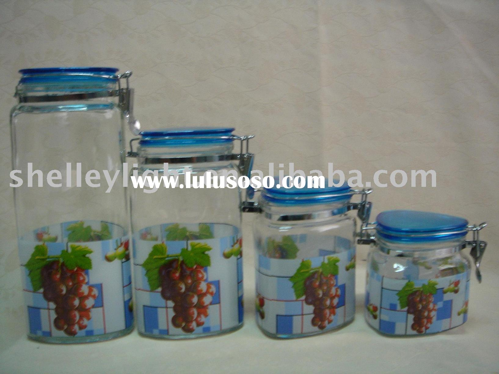 Glass Jar/glass canister/glass food container