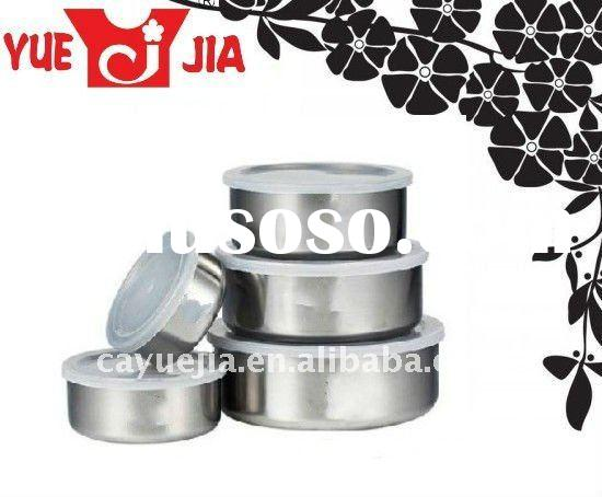 HOT 5pcs Stainless Steel Food Storage