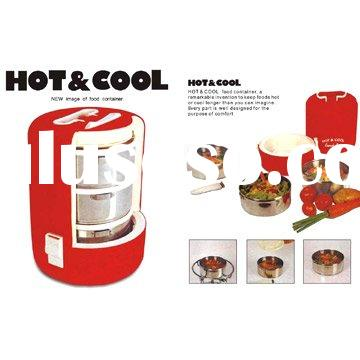 Hot and Cool Food Container