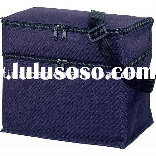 Insulated cooler bag for frozen food