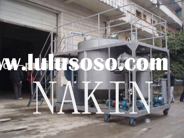 JZC New Diesel Oil Producing Plant Adopts Waste Lube Oil Distillation