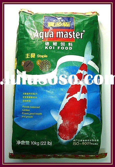 Aqua master koi food staple for sale price china for Koi fish food for sale