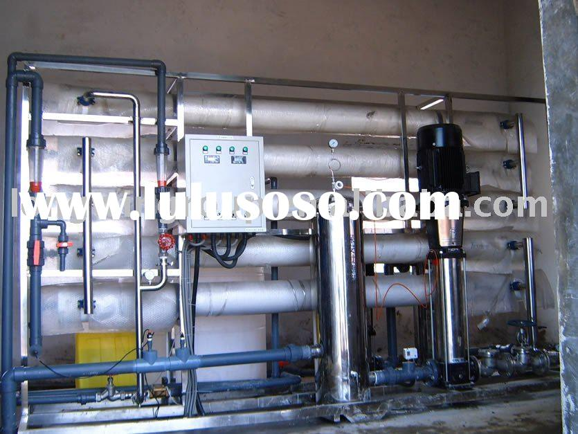 Membrane water treatment system