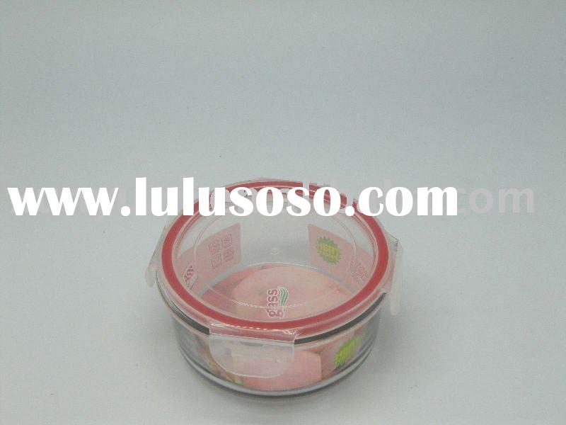 Pyrex Glass Food Storage containers with Plastic Lids