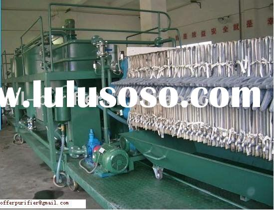 SQ/1T/D Efficient Investment  Used Engine Oil Treatment Machine ,High Gaining