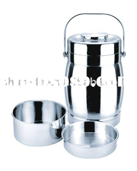 STAINLESS STEEL VACUUM FOOD STORAGE CONTAINER(with two small containers