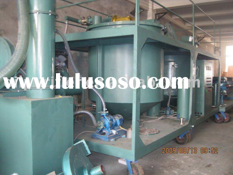 Waste Engine Oil Processing,Vacuum Engine Oil Filtering System Machine