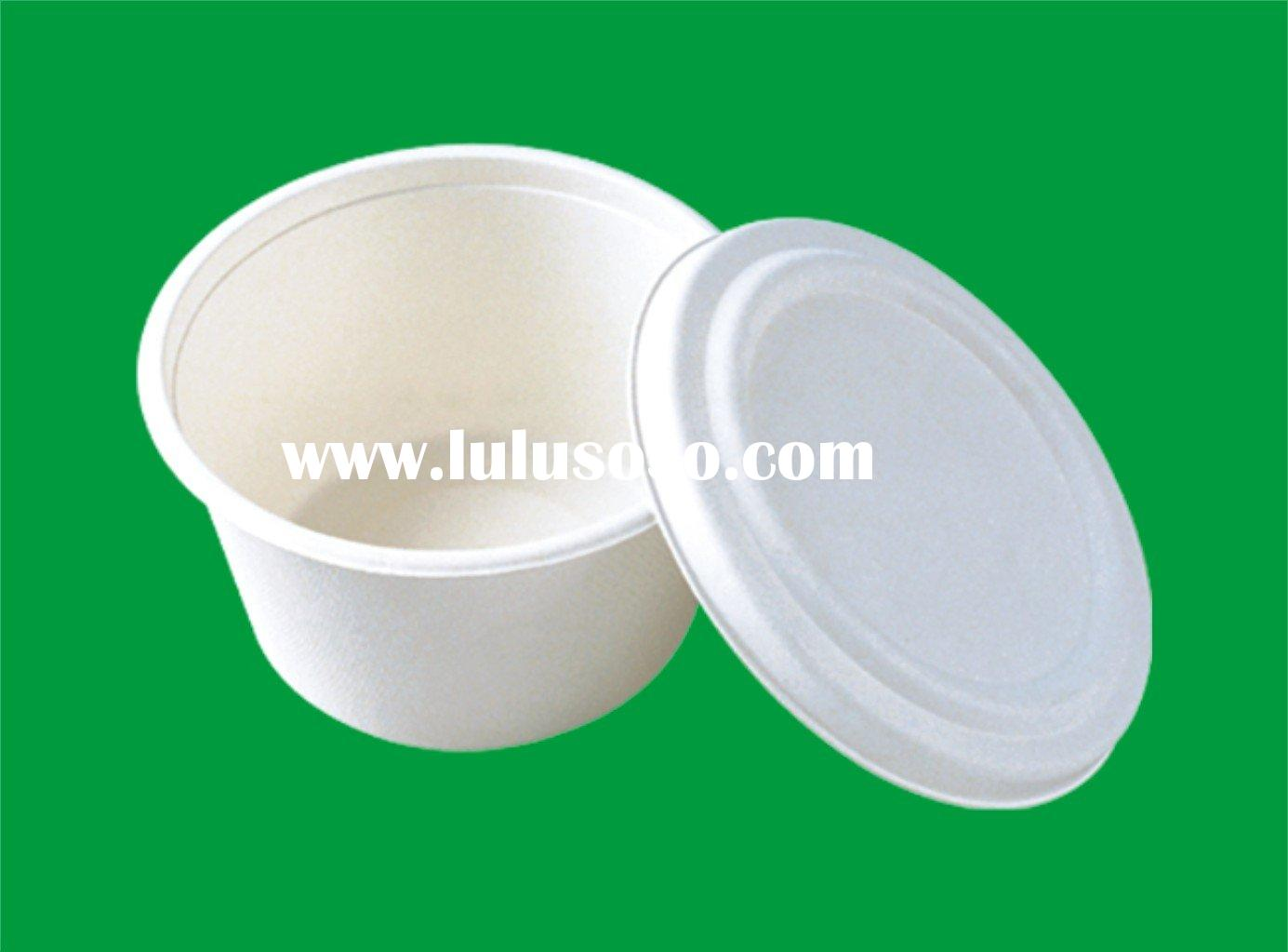 disposable degradable food container