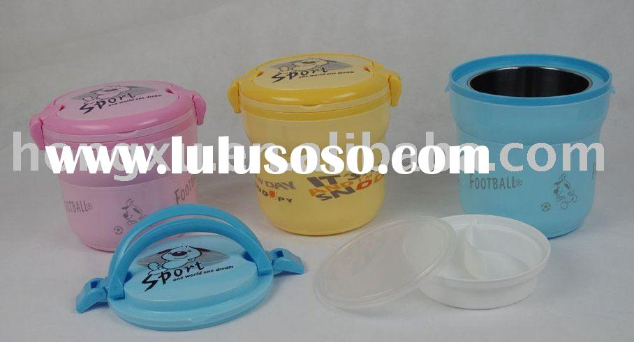 plastic thermos lunch box