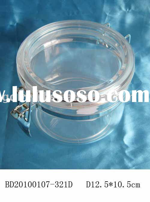 stainless steel and sealed plastic food container