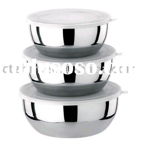 stainless steel freshness preservation food container set