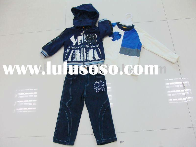 100% cotton knitted children clothing