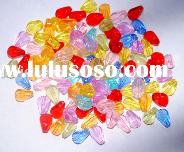 2011 Newest Fashion Plastic Beads Craft With Different Colors for Pomotion