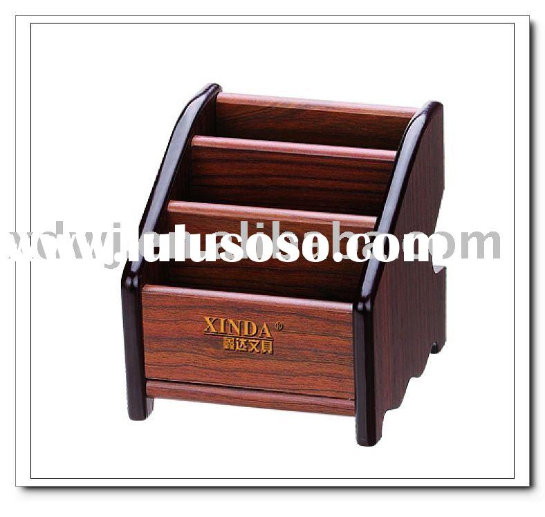 2011 high quality  wooden pen  holder  from china