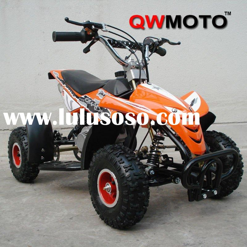 49CC MINI QUAD FOR KIDS with easy alloy pull starter