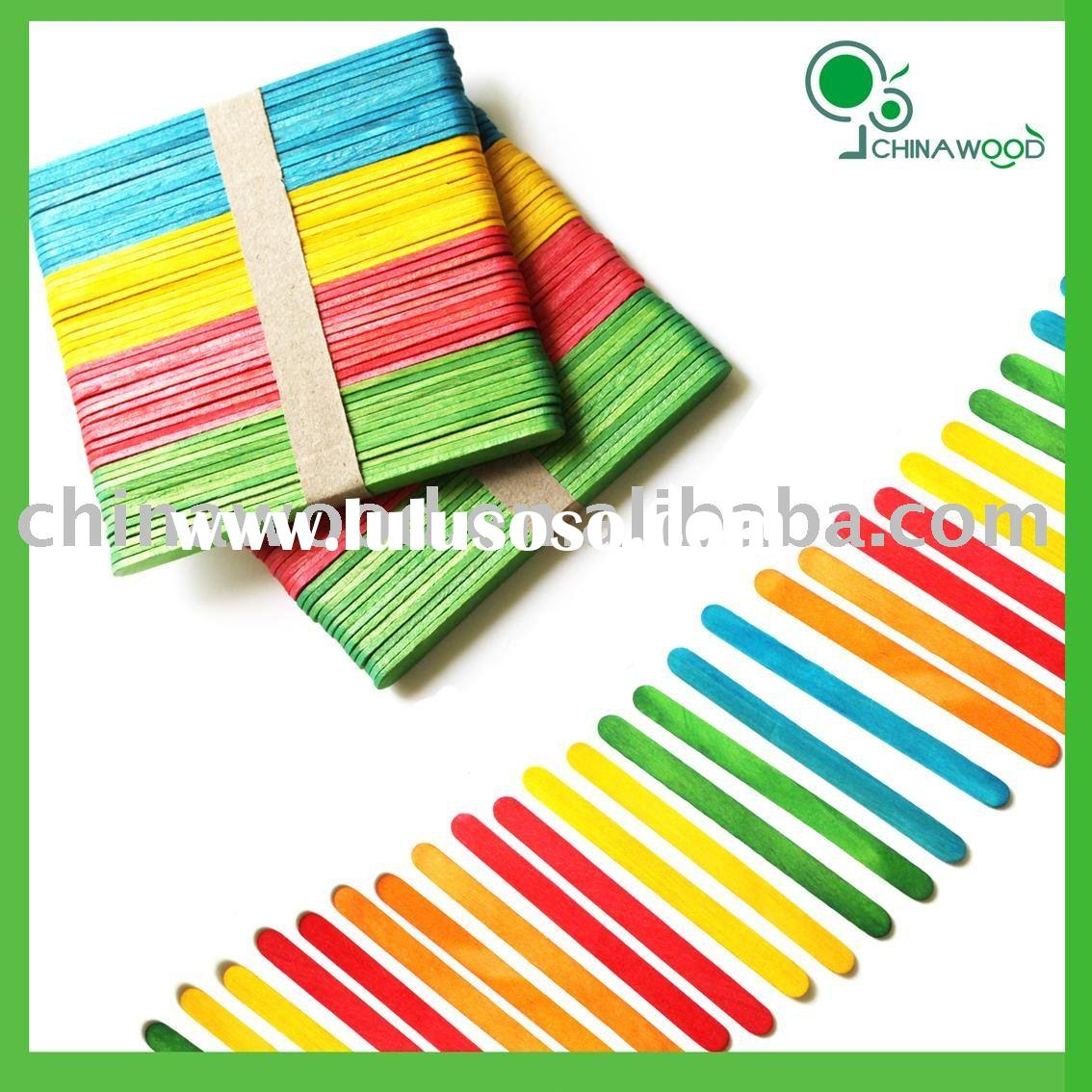 Assorted Colored Craft Woodsies Sticks