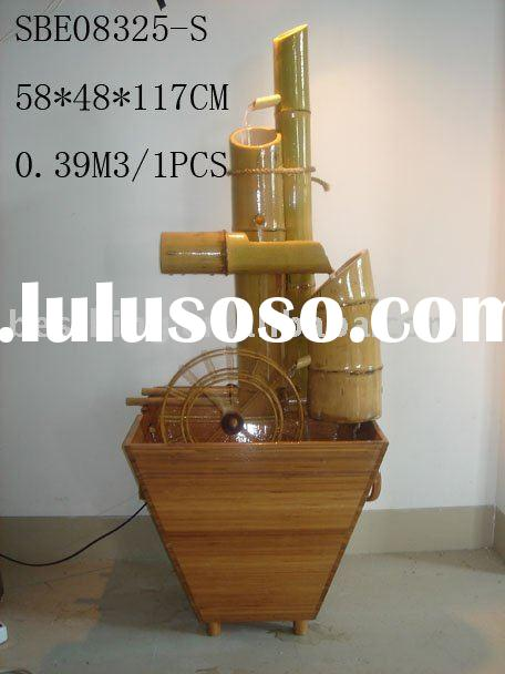 Bamboo fountain(Indoor Tabletop water fountain) SBE08325-C