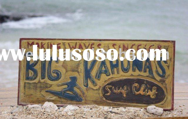 Beach House Wooden Signs