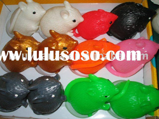 Colorful Squirrel Splat Ball