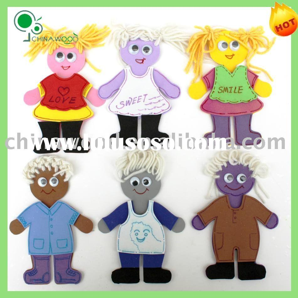 Craft Foam Girl and Boy Kits,School Kids