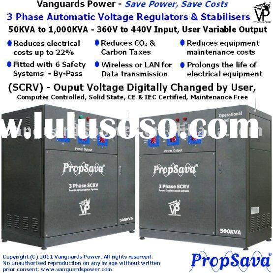 Energy Saving Product, VP PropSava 3 Phase Power Optimisation System