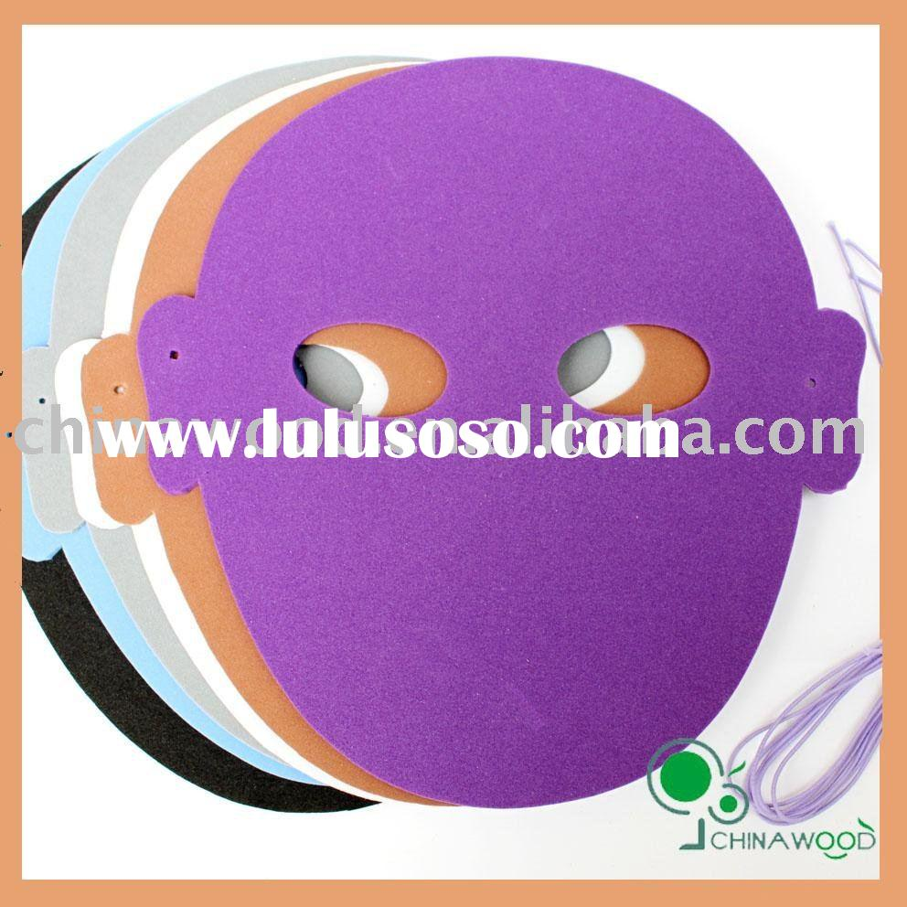 Halloween Craft Foam Mask for Girls,Boys,Party Mask