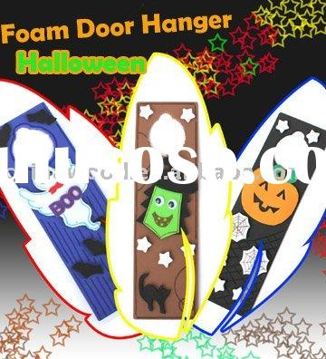 Halloween Foam Door Hanger,Craft Foam Door Hanger