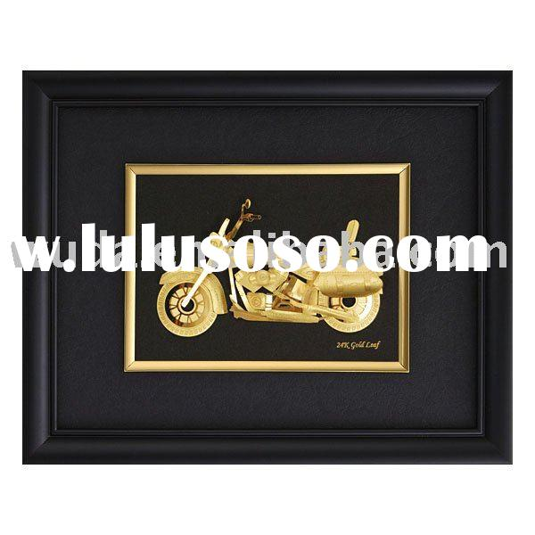 Motor Car-3D Gold Foil Wall Picture