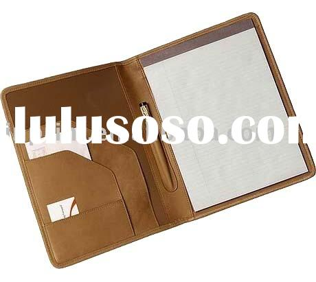 Notepad Holder(notepad with pen,portfolio,leather pocket organizer,notebook,leather notebook,gift di